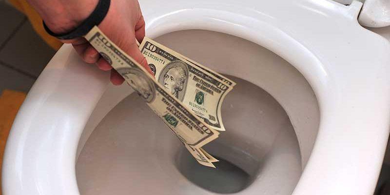 black diamond energy efficient toilet